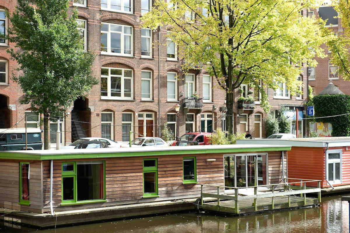 Houseboat Aviva Amsterdam