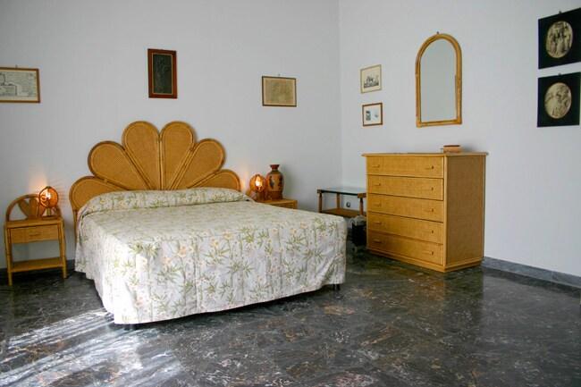 The double bedroom of Chiara Apartment in Sorrento