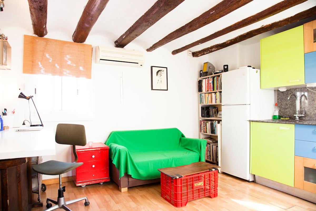 Kitchen-Studio-Livingroom