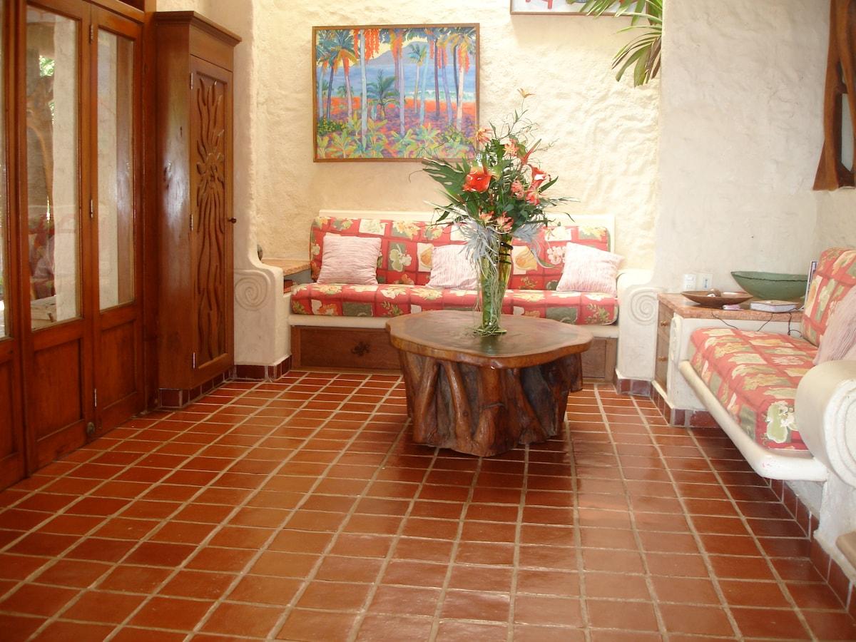 Casa Selvatica living room