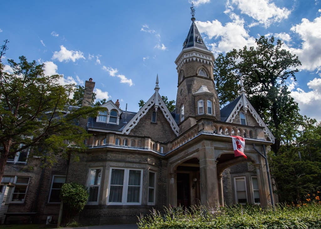 Victorian Castle downtown Toronto