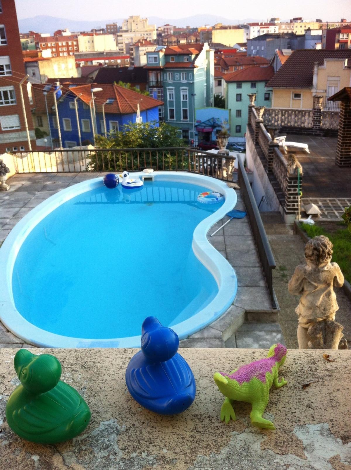 Estudio nuevo c ntrico con piscina en santander - Piscinas en santander ...