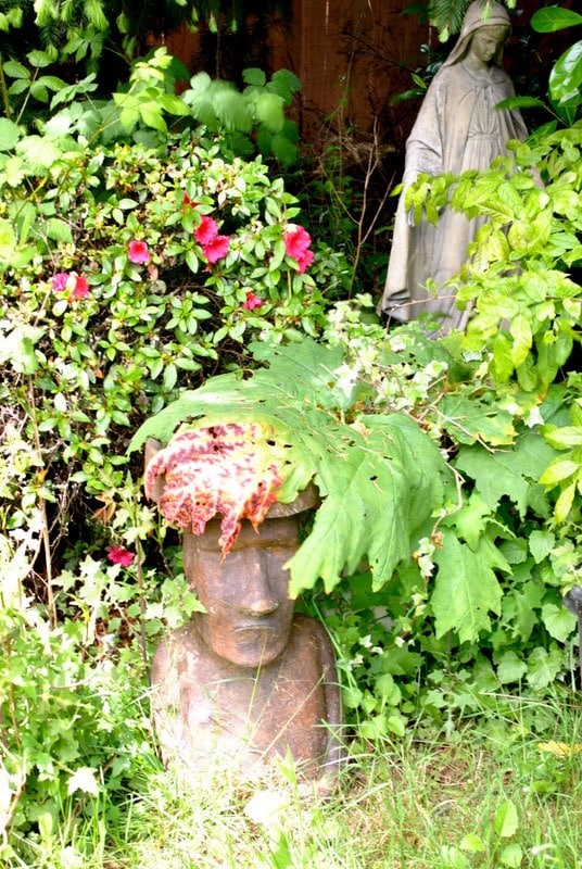 Native Statuary and the Ever-Caring Watchfulness of Madonna protect your stay.