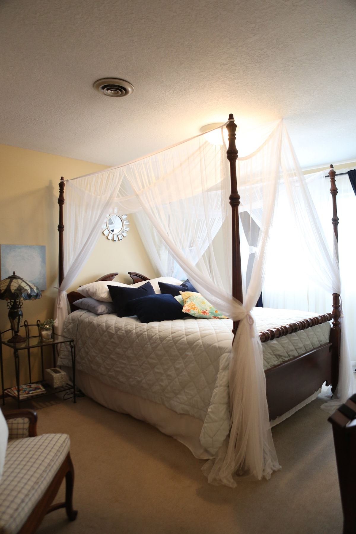 Your canopy retreat!