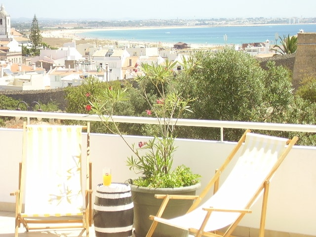 Roof top Terrace where you can relax, sunbathe or just enjoy a drink... CHEERS!!