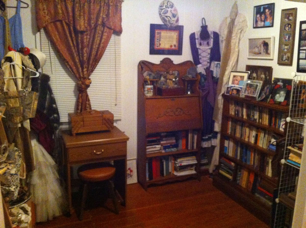 Library and costume room