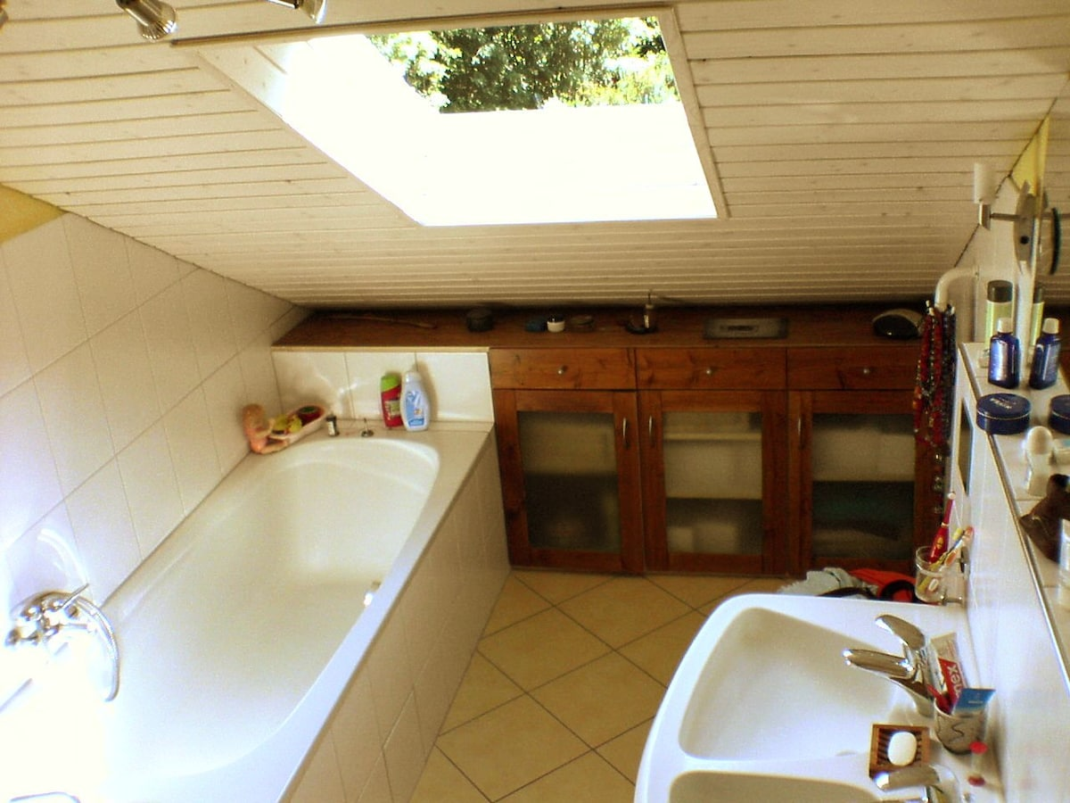 upper bathroom (shower behind photographer)