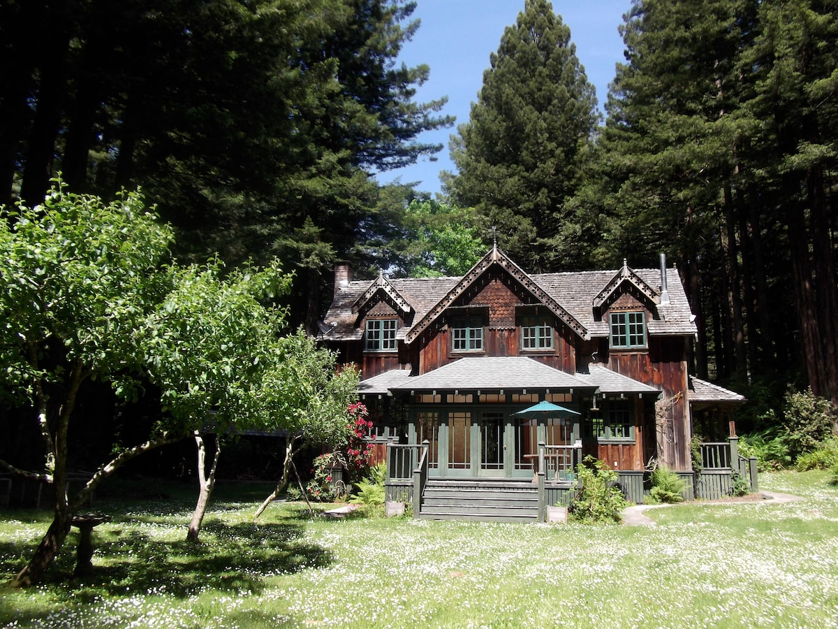 The Gate Lodge..a redwoods retreat