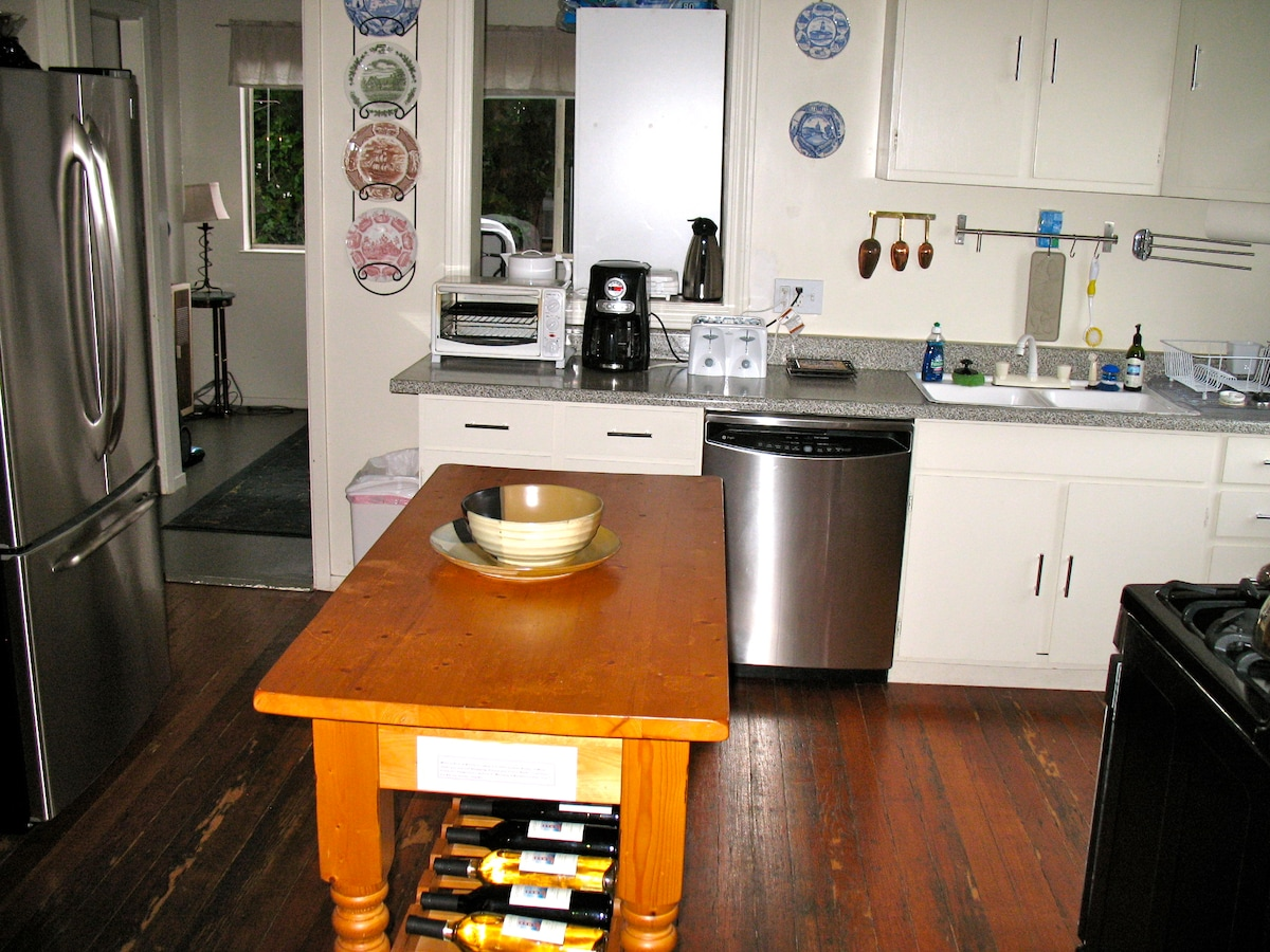 Private Kitchen with everything you need but the food.
