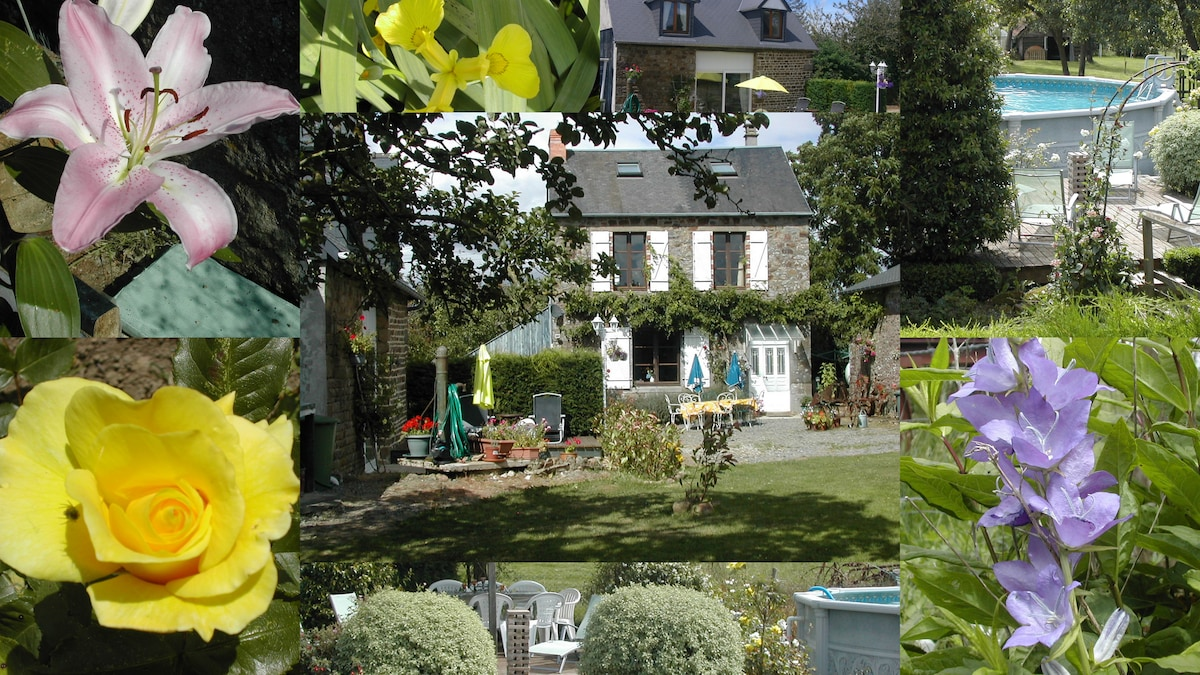 B&B with pool Nr. Le Mont St Michel