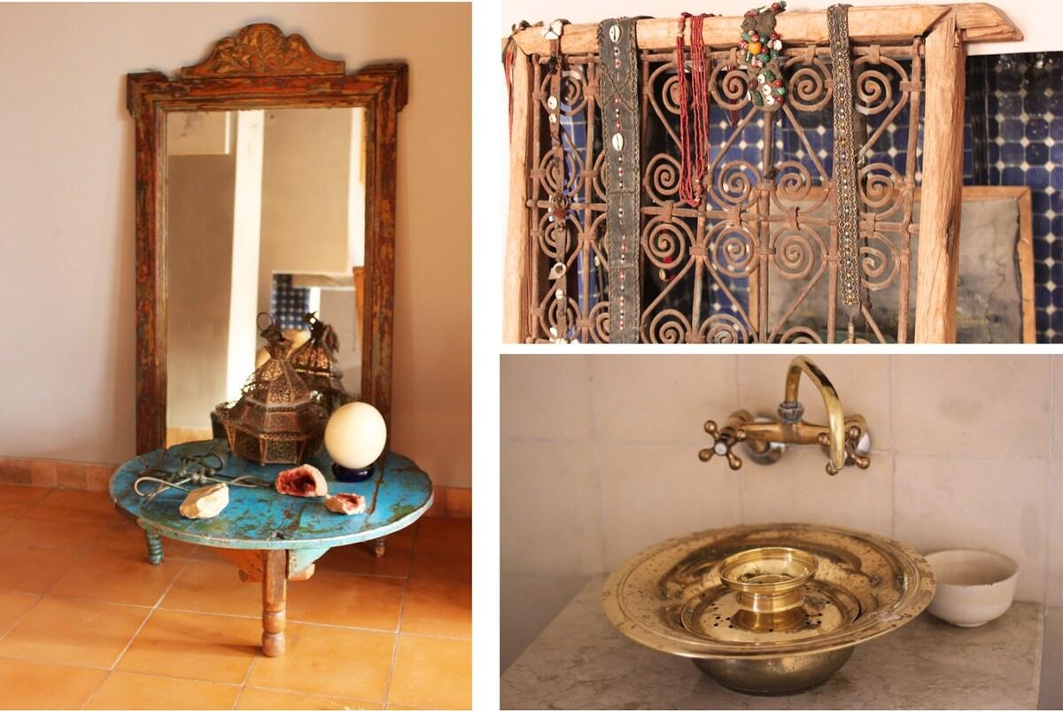 Designer's apartment in Marrakech