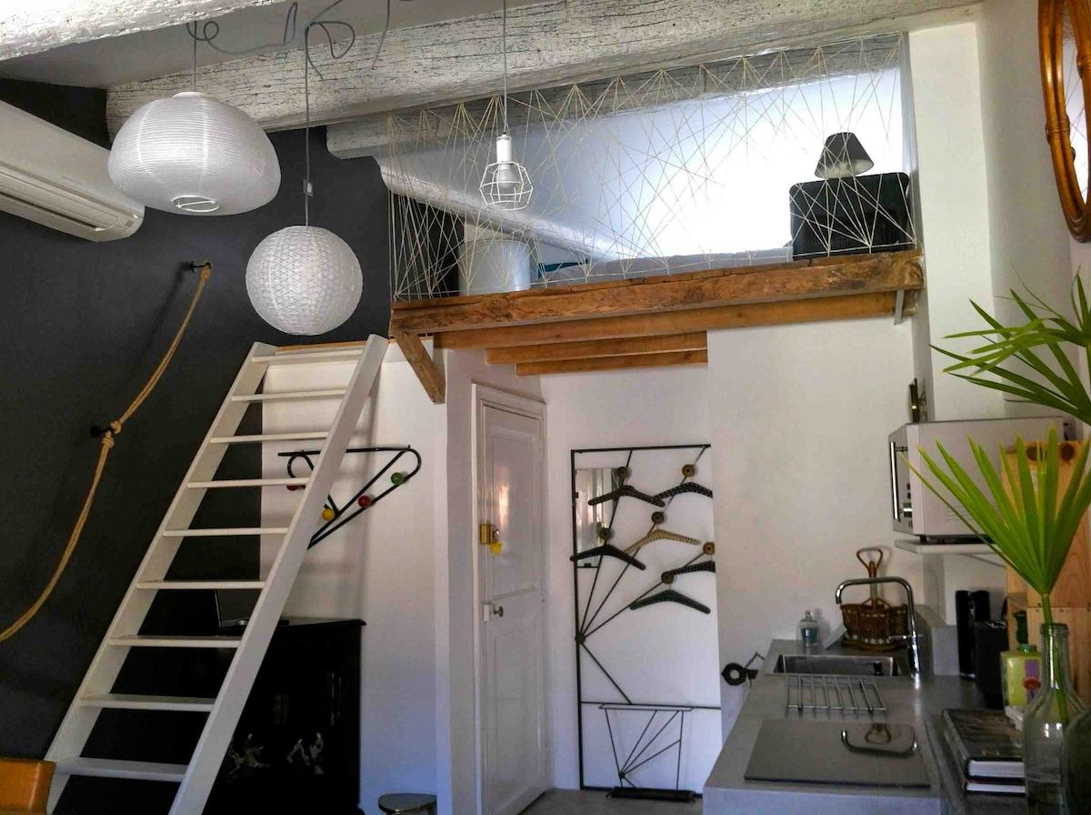 Grand studio coeur de Montpellier