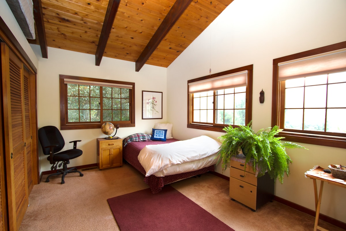 Sunny Bedroom in Aptos Home
