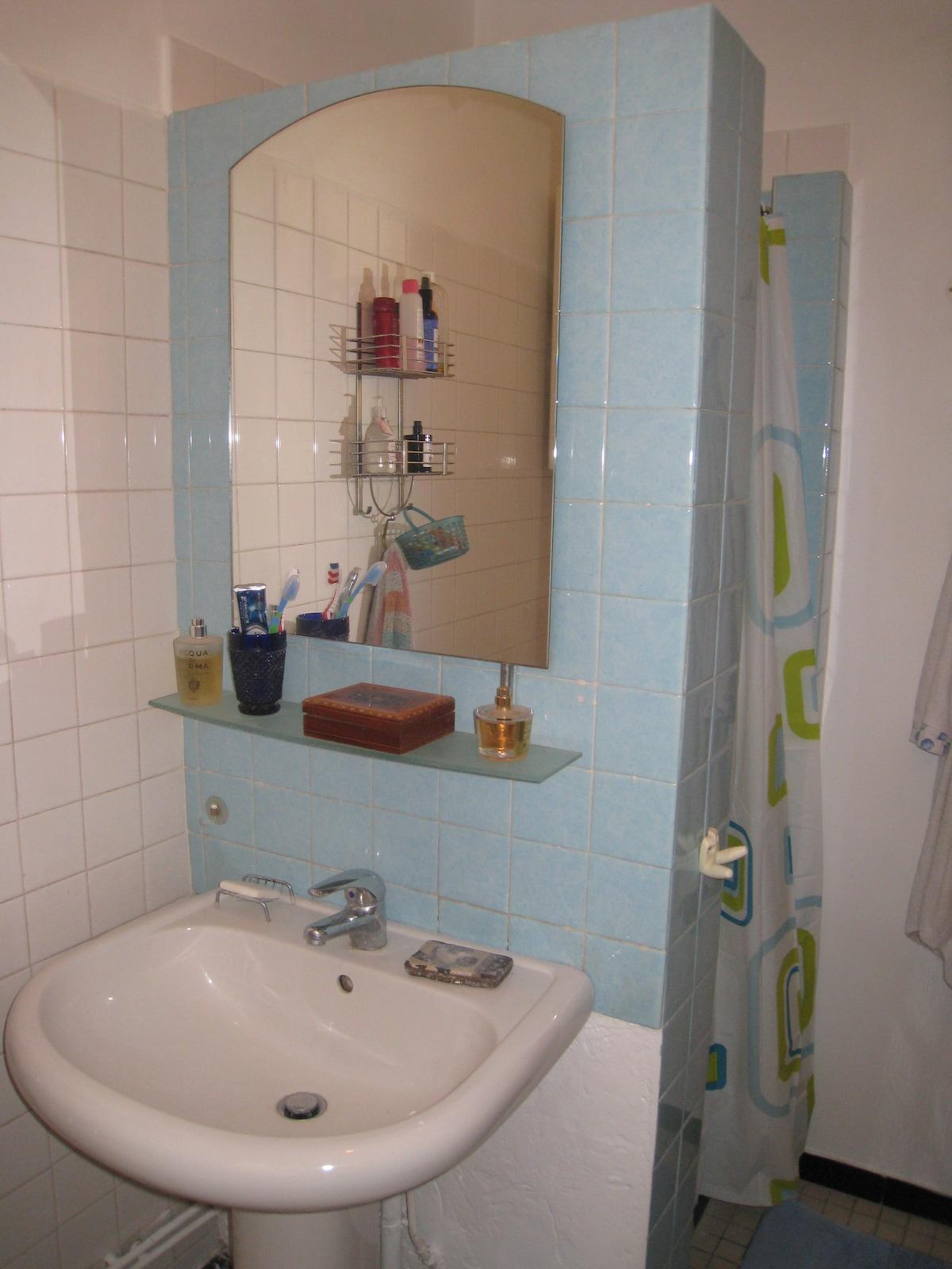 la salle de bains, 1