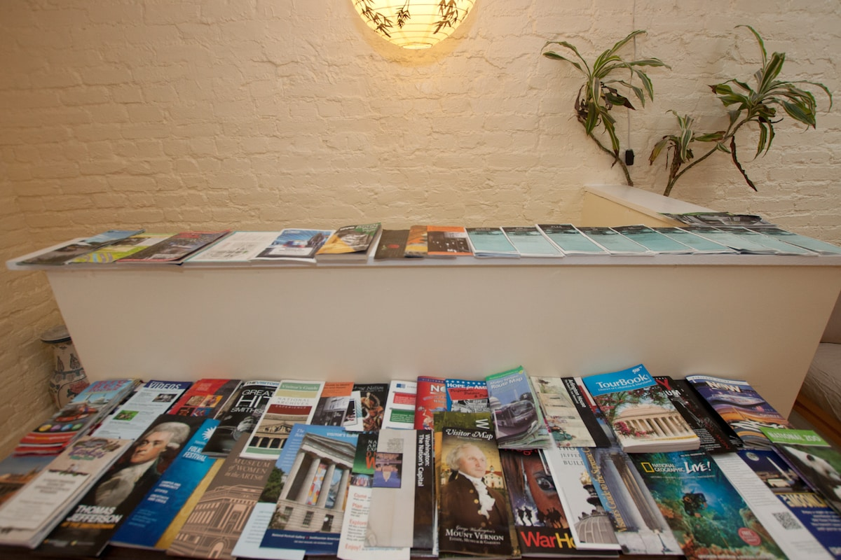 Maps, Brochures and Guide Books. Everything to help you get around and see the sights.