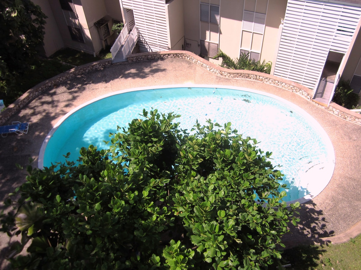 One of five over-sized pools