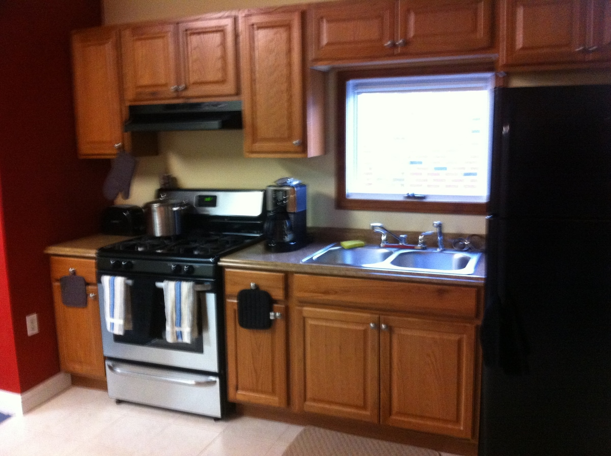 All New Kitcken Cabinets and Appliences