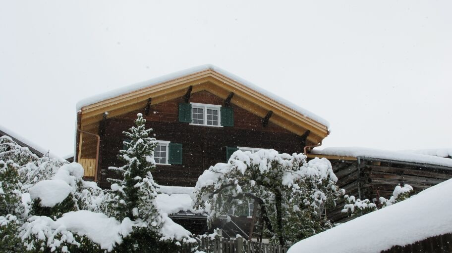 Haus, house in Castiel, Swiss Mountains