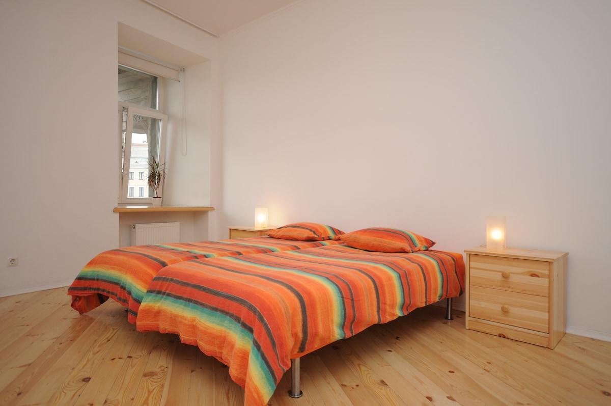 2 bequeme Einzelbetten