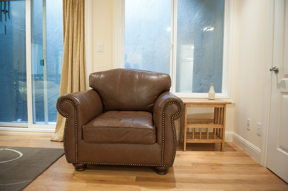 Comfy reading chair in your bedroom