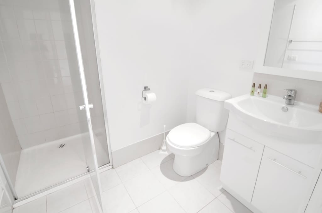 Clean and big private bathroom