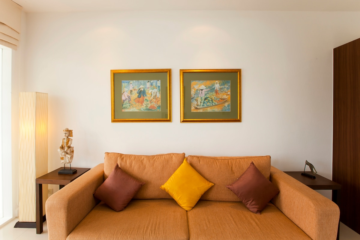 One bedroom luxury penthouse