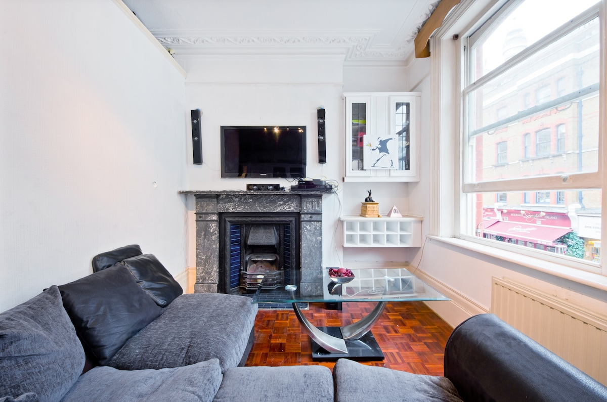 Spacious 1 bedroom W1 Flat, Central