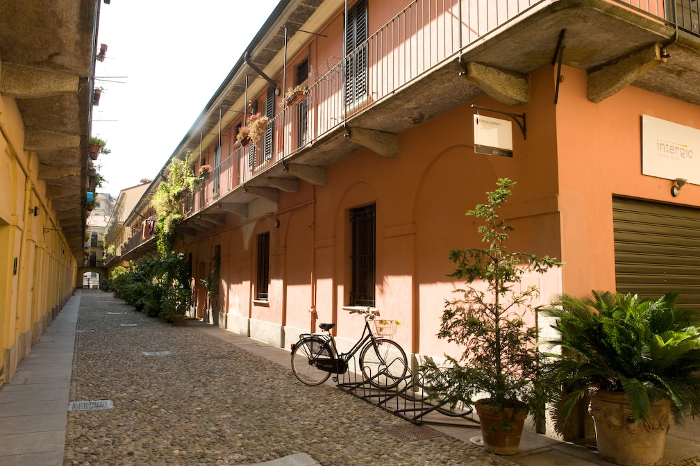 300 yr. old Courtyard Central Milan