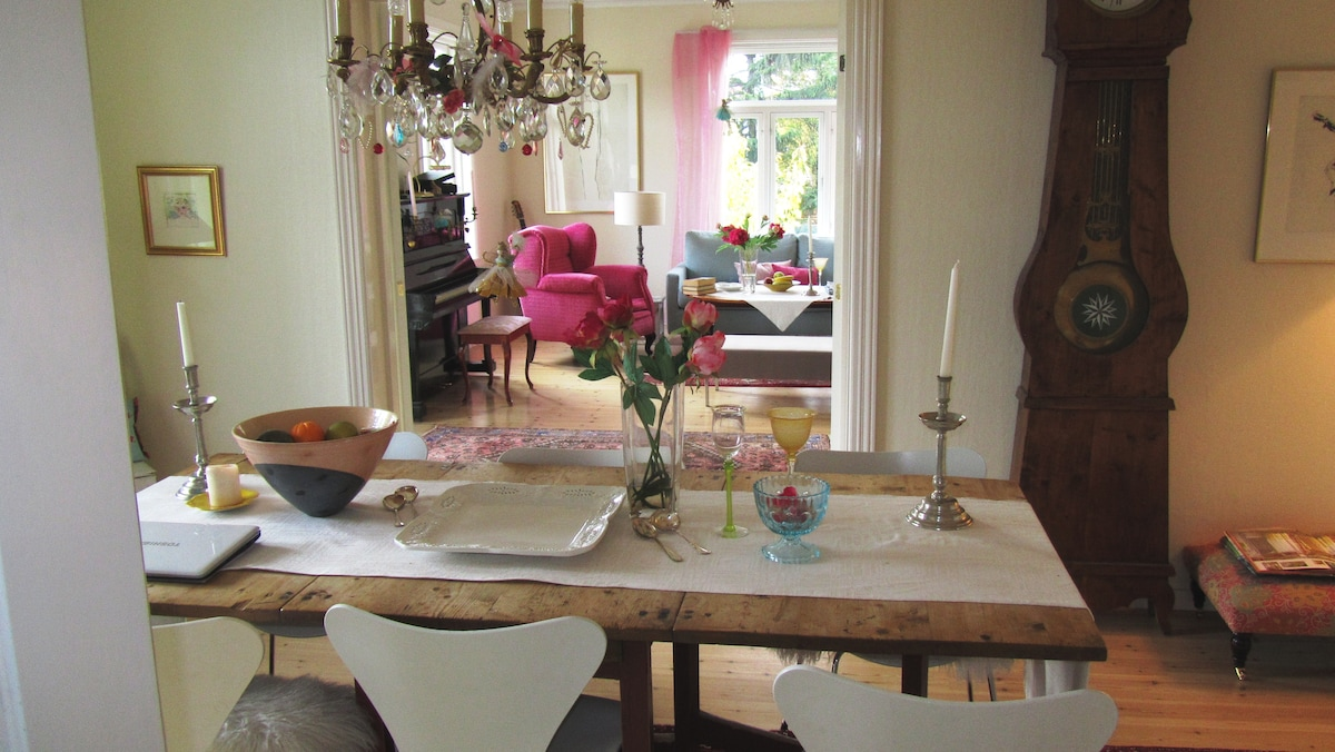 The dining room, where the breakfast is served