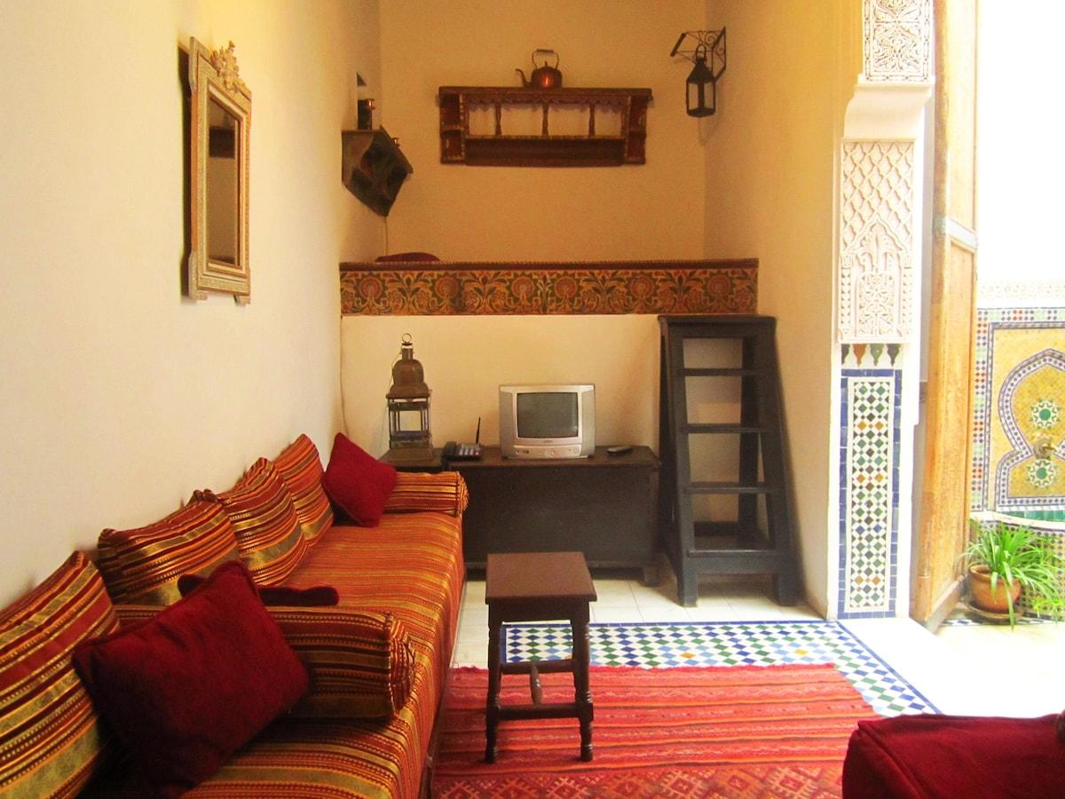 Dar Daheb, in the heart of Fes