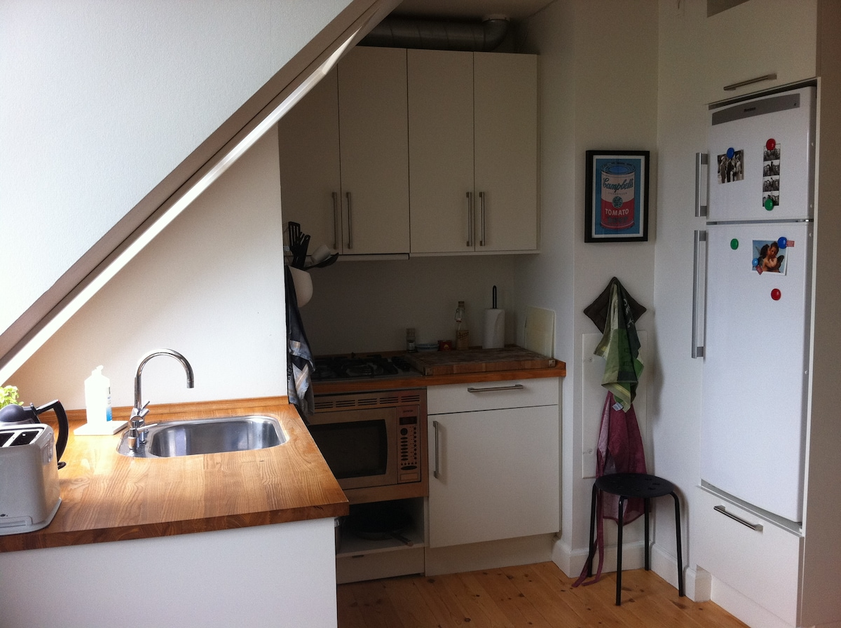 convenient kitchen with everything you need