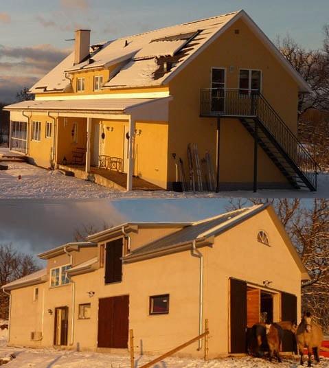 Avonlea in winter.