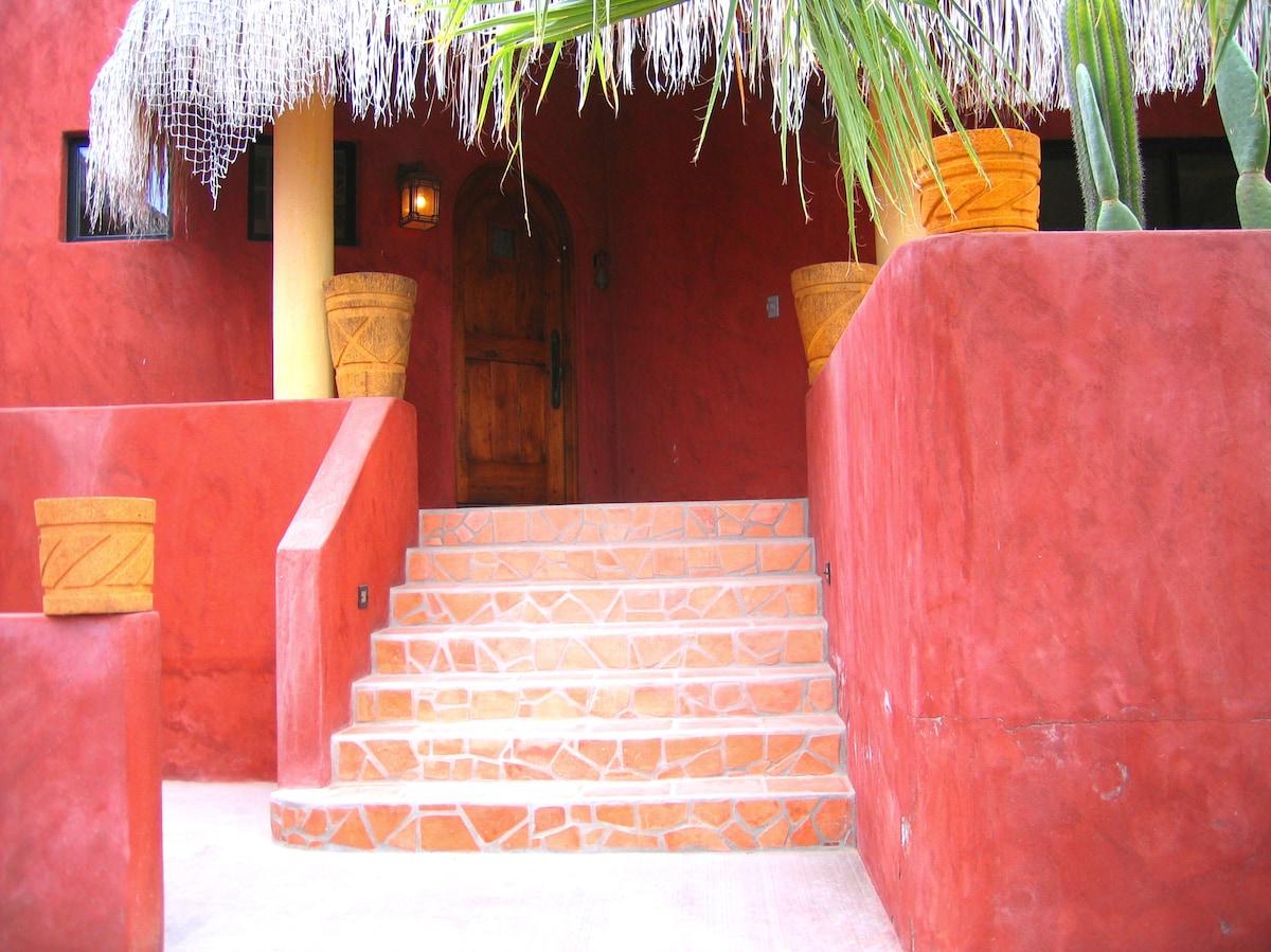 Prettiest home San Juanico Baja Sur