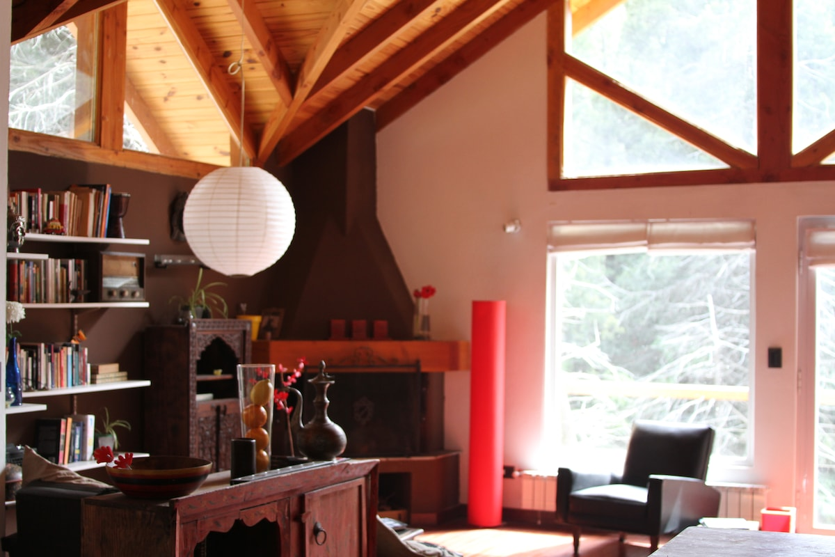 Beautiful House In Bariloche Forest
