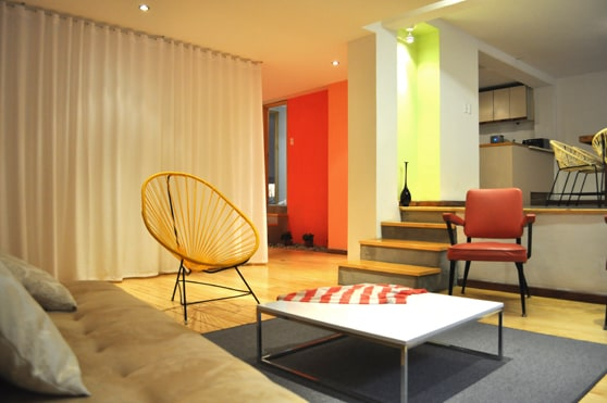 Two bedroom apartment in Condesa