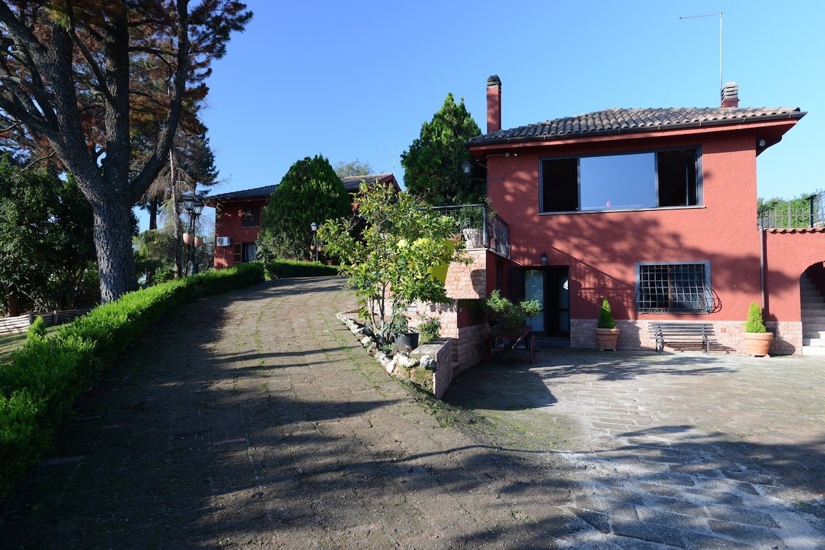 Country house with pool near Rome
