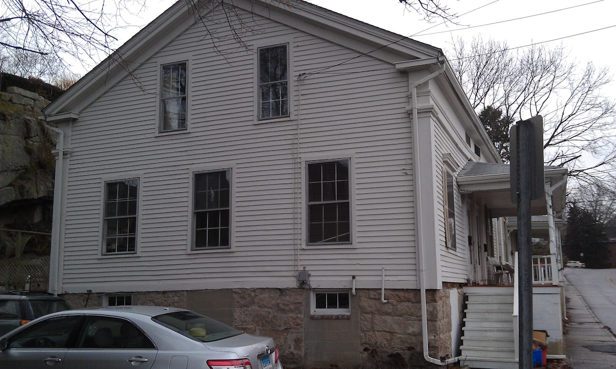1845 Greek Revival at Mystic River