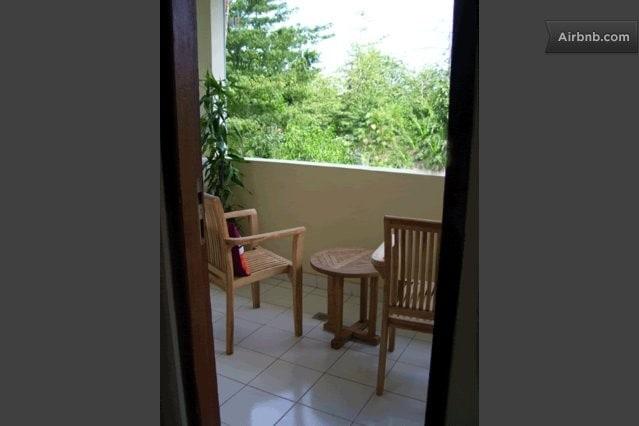 small balcony at 2nd floor
