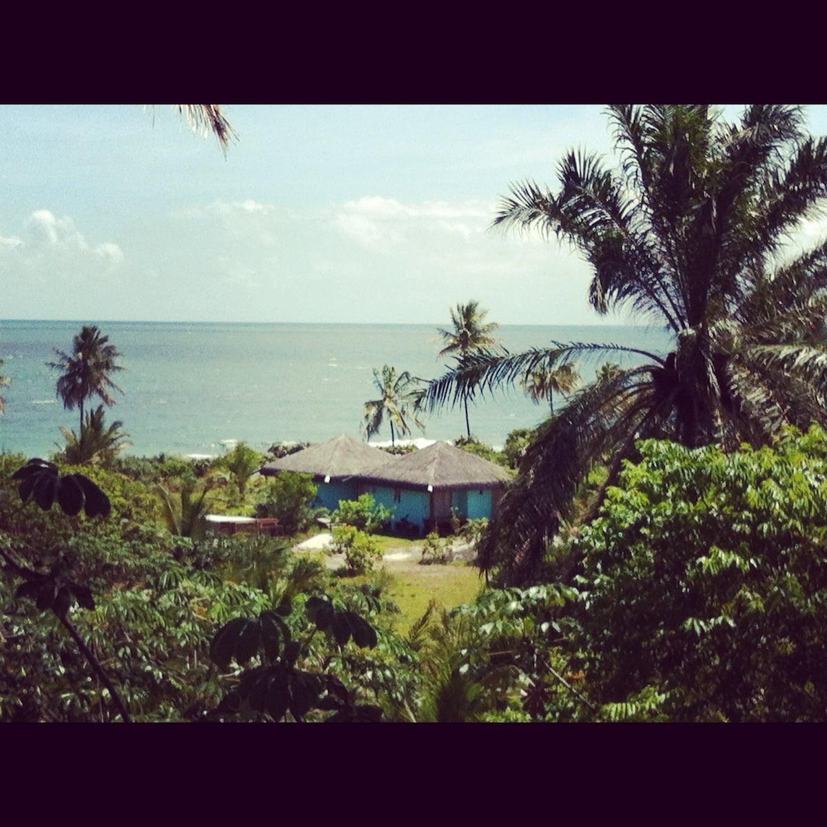 Our beach house at Ponta do Muta