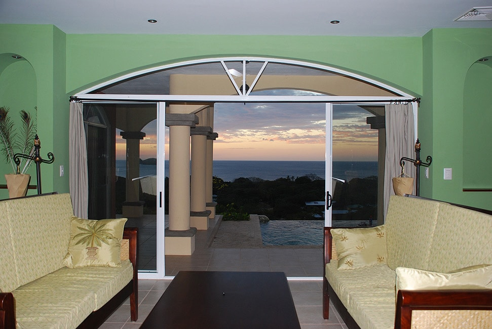 This is the view that awaits from the living room as you open the front entry doors