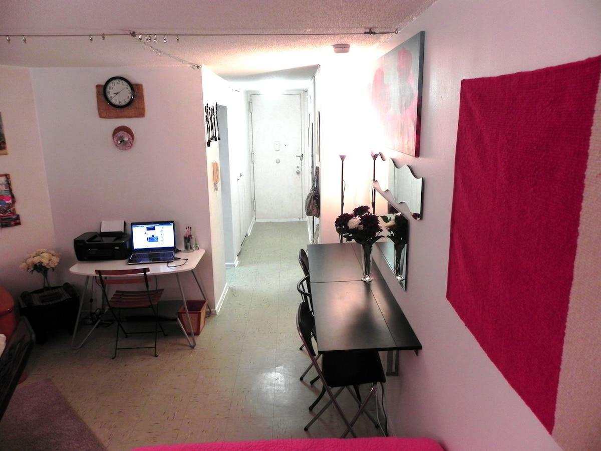 Studio inHeart of New York Free Gym