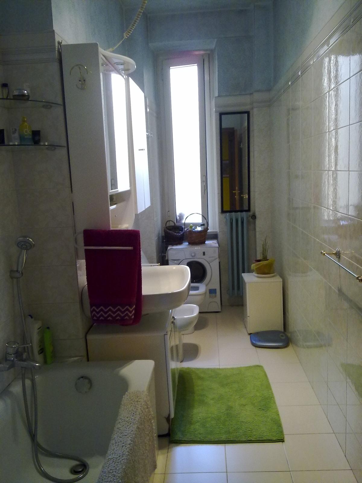 bagno- bathroom