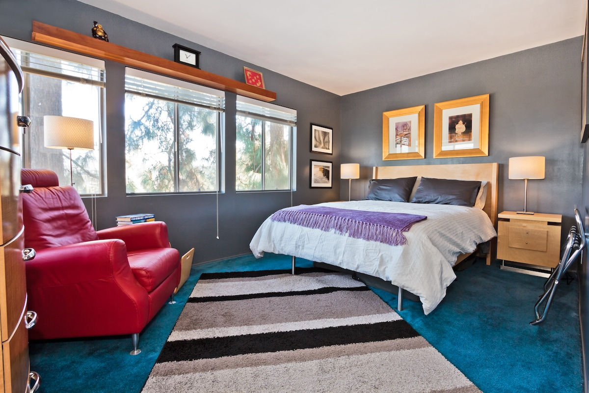 Your room... with all the comforts of home!