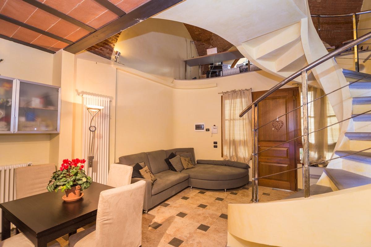 Stunning Loft in The Heart of Prato