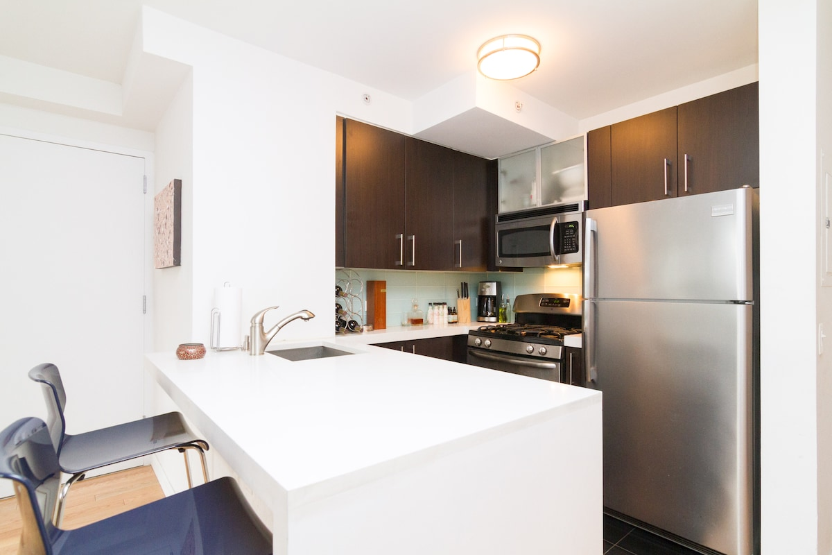 Luxury Living Steps from Times Sq!