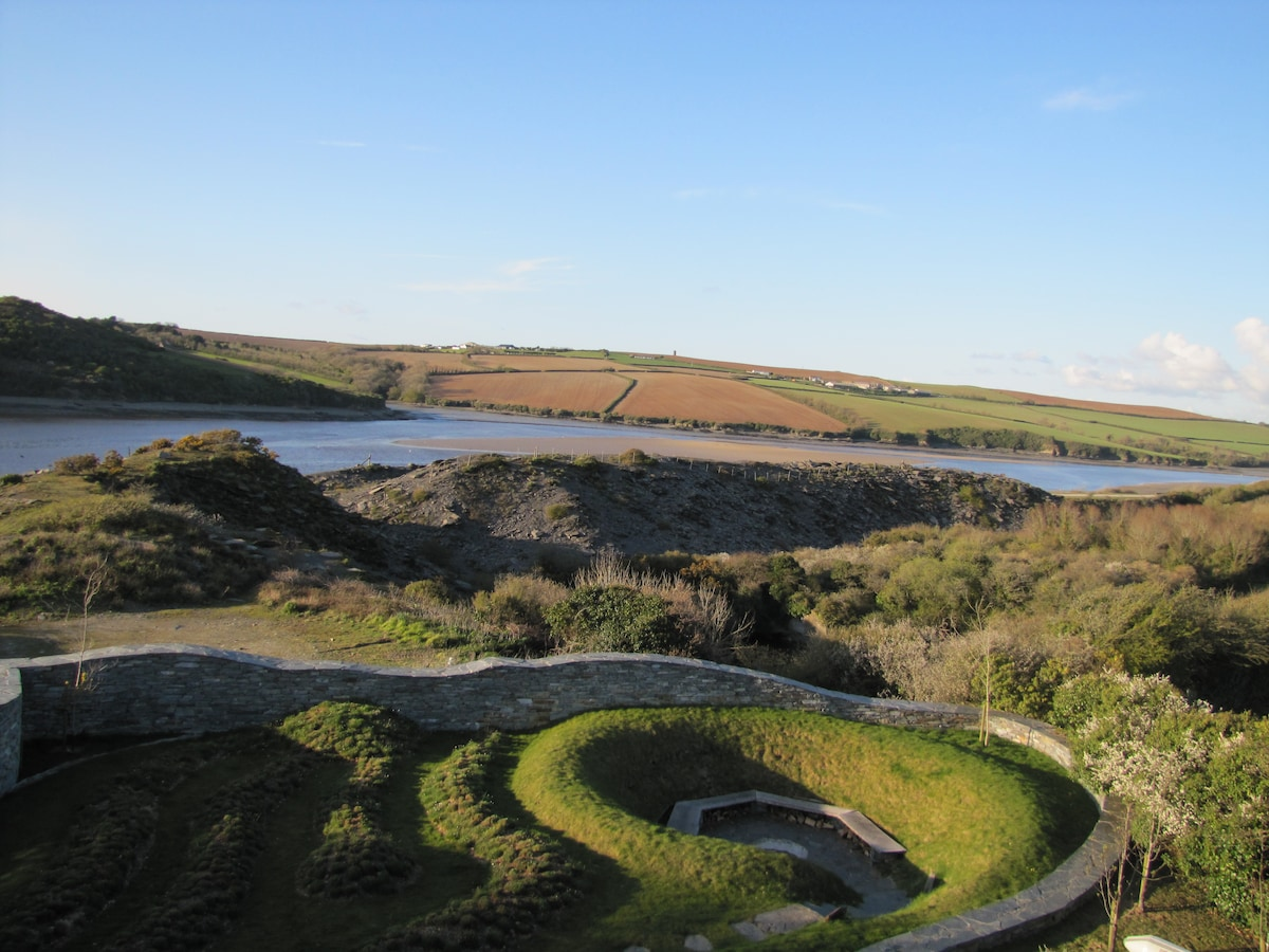 View over the Estuary from the Terrace