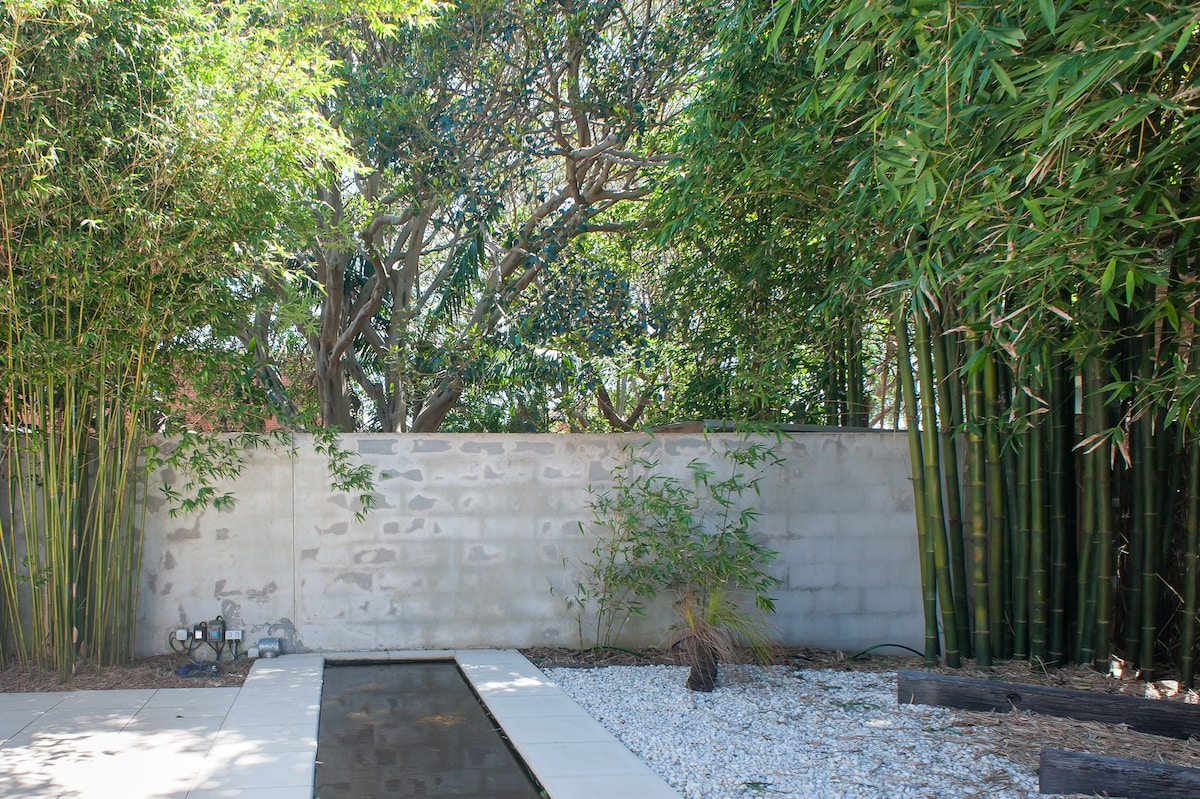 Bamboos, fish, and fig trees.