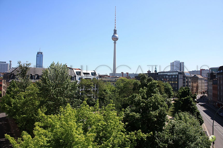 Fantastic view from roof top appartment in mitte
