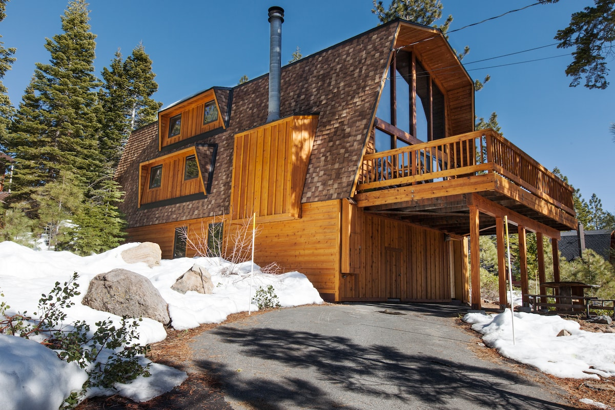 Modern Tahoe Dollar Point, 4BR