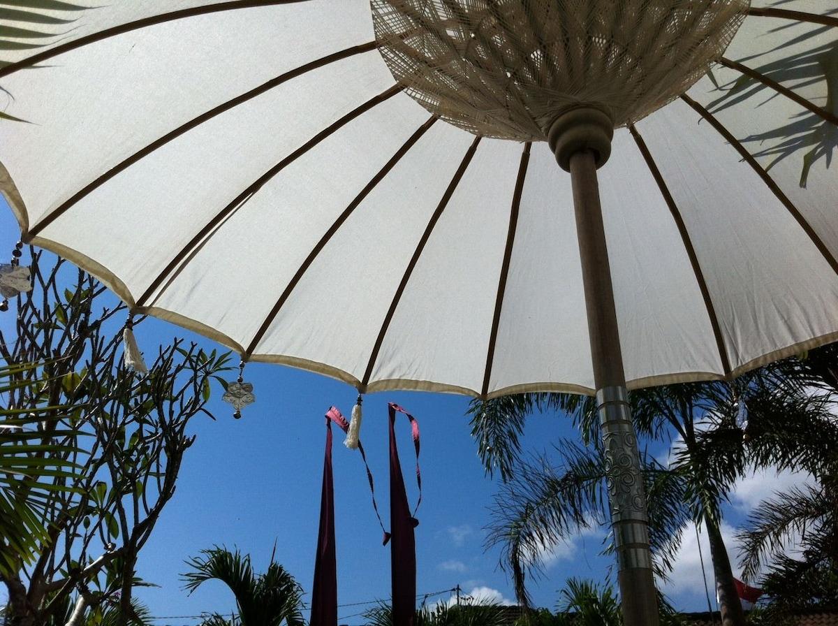Bali blue sky